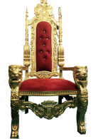 Throne Rental Chair