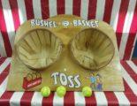 bushel basket toss